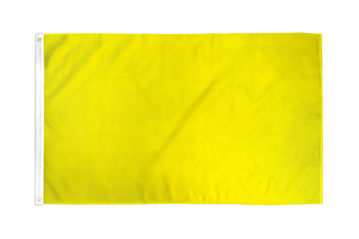 Yellow Solid Color DuraFlag