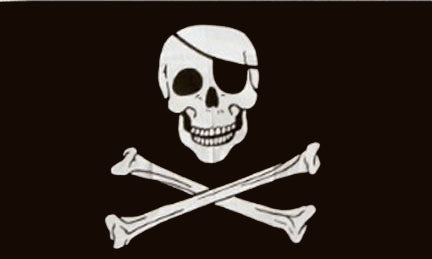 Pirate flags-Flag 3x5ft