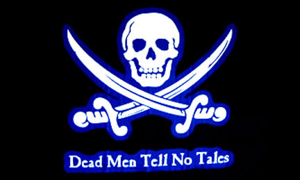 Pirate flags-Dead Men Tell No Tales Flag 3x5ft