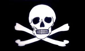 Pirate flags-Poison New Flag 3x5ft