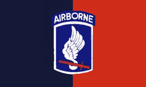 Military flags-173rd Airborne #B (Black/Red) Flag 3x5ft