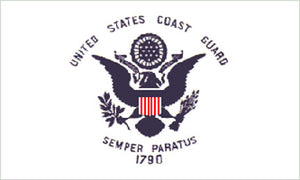 Military flags-Coast Guard Regular Flag 3x5ft