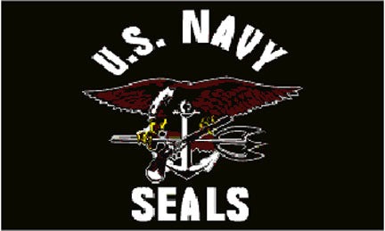 Military flags-Navy Seals Flag 3x5ft