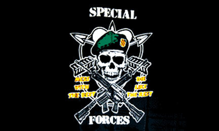Military flags-Special Force Flag 3x5ft