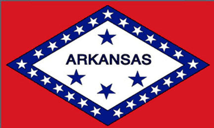 Arkansas state flag 3x5 ft - US state Flags