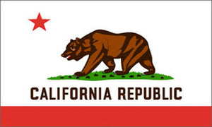 California state flag 3x5 ft - US state Flags