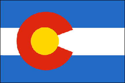 Colorado state flag 3x5 ft - US state Flags