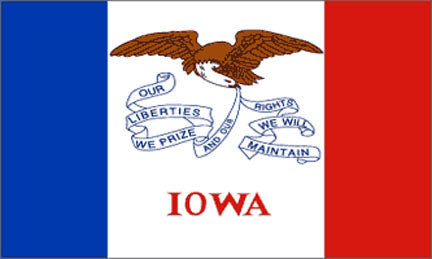 Iowa state flag 3x5 ft - US state Flags