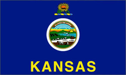 Kansas state flag 3x5 ft - US state Flags