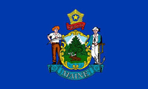 Maine state flag 3x5 ft - US state Flags