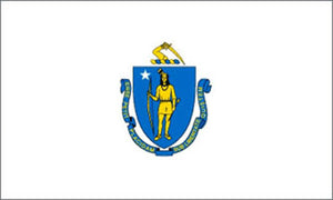 Massachusetts state flag 3x5 ft - US state Flags