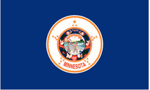 Minnesota state flag 3x5 ft - US state Flags