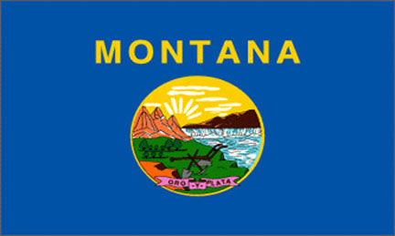 Montana state flag 3x5 ft - US state Flags