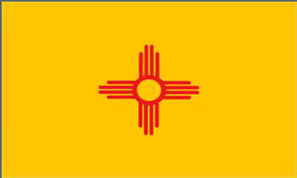 New Mexico state flag 3x5 ft - US state Flags