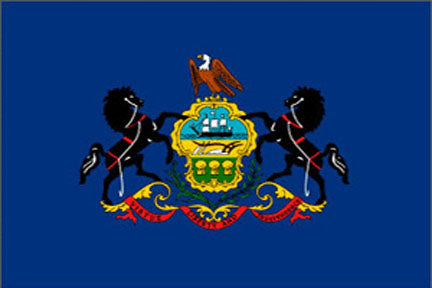 Pennsylvania state flag 3x5 ft - US state Flags