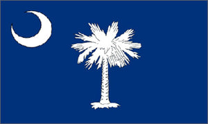 South Carolina state flag 3x5 ft - US state Flags