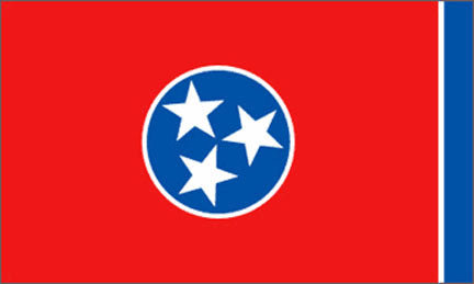 Tennessee state flag 3x5 ft - US state Flags