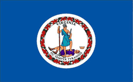 Virginia state flag 3x5 ft - US state Flags