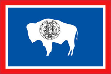 Wyoming state flag 3x5 ft - US state Flags