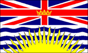 3x5 ft British Columbia Flag