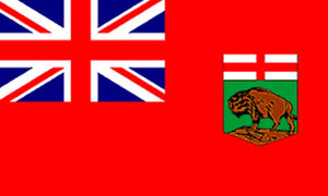 3x5 ft Manitoba Flag