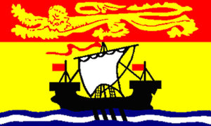 3x5 ft New Brunswick Flag