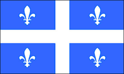 3x5 ft Quebec Flag