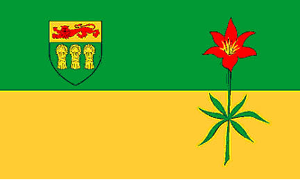 3x5 ft Saskatchewan Flag