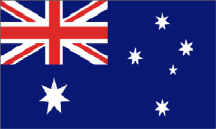3x5ft Polyester United Nations---Australia Flag