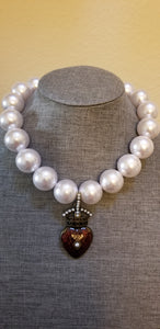 Pearl Chunky Necklace