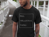 Men's Issa Millennial Thing T-Shirt-Black