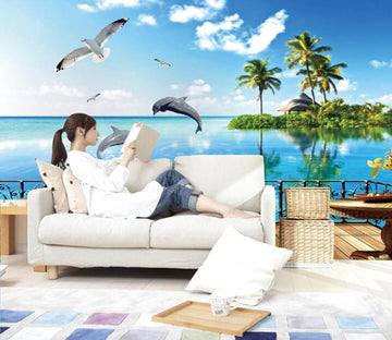 3D Cloud Ocean Dopihin Wallpaper AJ Wallpaper 1