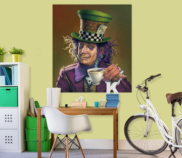 3D Mad Hatter Def 050 Vincent Hie Wall Sticker
