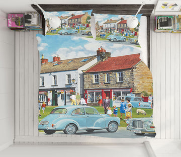 3D Street Houses 8901 Trevor Mitchell bedding Bed Pillowcases Quilt