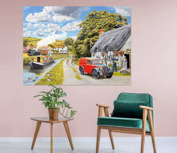 3D Parcel For Canal Cottage 054 Trevor Mitchell Wall Sticker