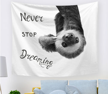 3D Cute Panda 2409 Tapestry Hanging Cloth Hang