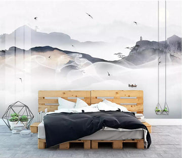 3D Abstract Smoke 2516 Wall Murals