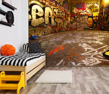 3D Graffiti Wall 1741 Wall Murals