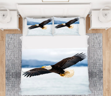 3D Eagle 21042 Bed Pillowcases Quilt