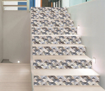 3D Shiny Mosaic 0006 Marble Tile Texture Stair Risers Wallpaper AJ Wallpaper