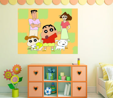 3D Crayon Shin Chan 009 Anime Wall Stickers