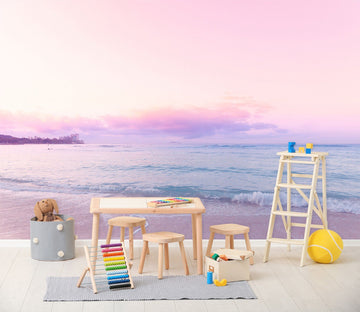 3D Beautiful Sea View 107 Noirblanc渡部陽 Wall Mural Wall Murals