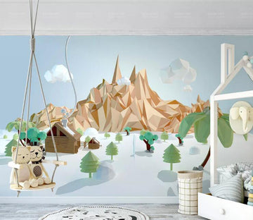 3D Lovely Valley WC260 Wall Murals