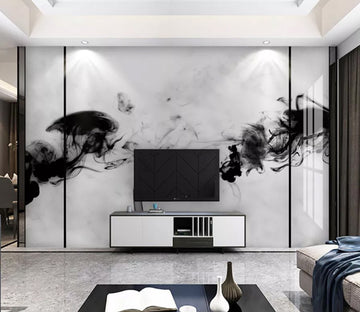 3D Ink Abstraction  WC2142 Wall Murals