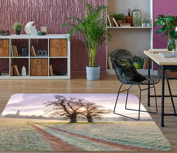 3D Land Grass Tree 172 Assaf Frank Rug Non Slip Rug Mat