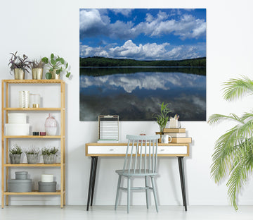 3D Cloud Lake 104 Jerry LoFaro Wall Sticker