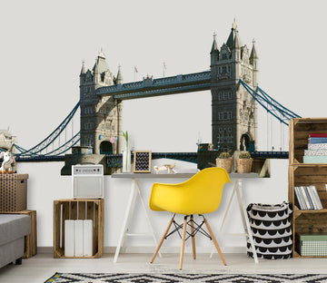 3D Bridge 0237 Wall Stickers Wallpaper AJ Wallpaper