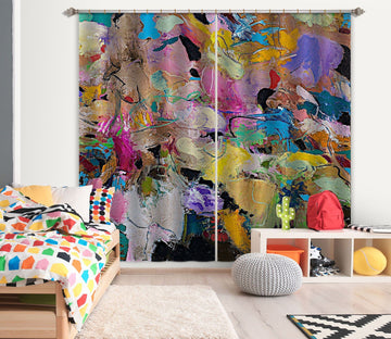 3D Abstract Art 173 Allan P. Friedlander Curtain Curtains Drapes Curtains AJ Creativity Home