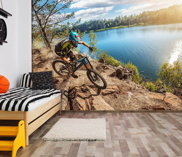 3D Lakeside Bicycle Motion 767