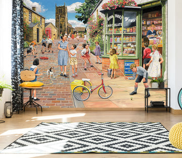 3D The Sweet Shop 1067 Trevor Mitchell Wall Mural Wall Murals